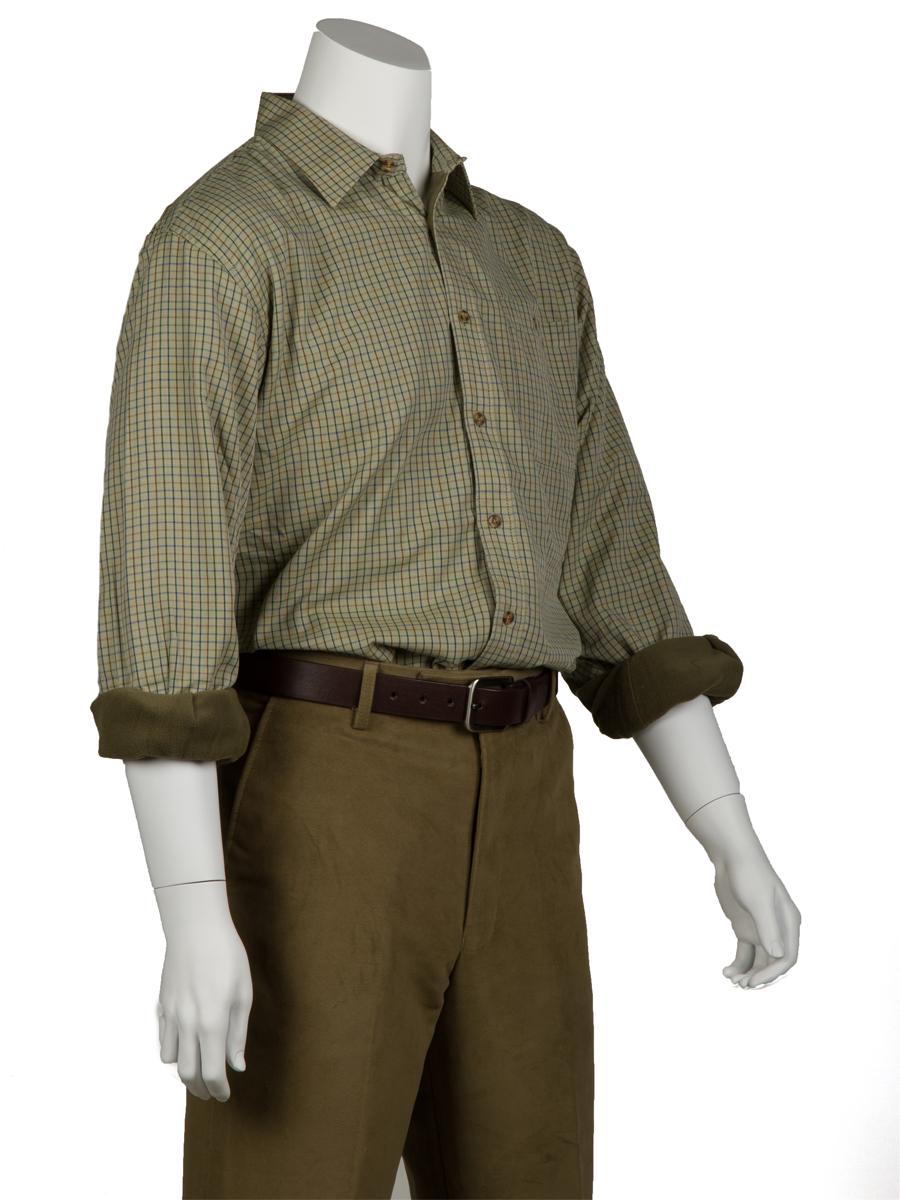 Fleece-Lined Shirts