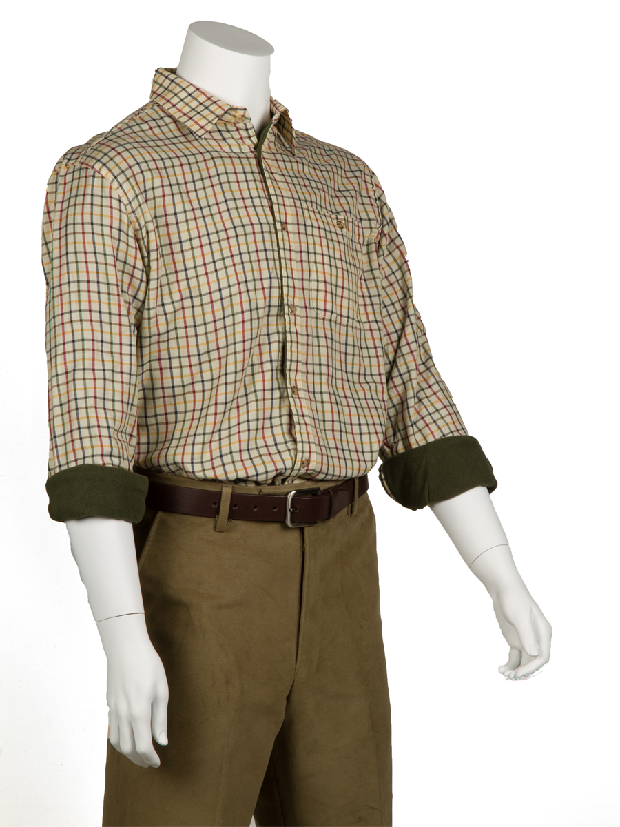 Kimbolton fleece-lined shirt