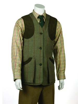 Monarch Tweed Shooting Waistcoat