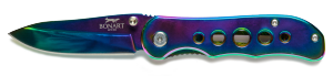 pearlescent folding knife