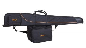 Bonart shotgun slip in black and gold