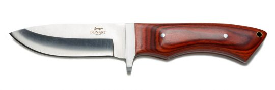 Bonart wooden-handled sheathknife