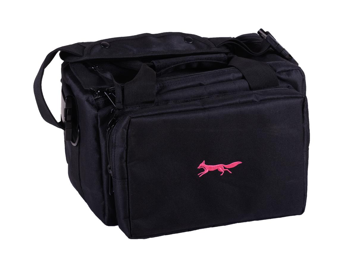 Range bag pink and black