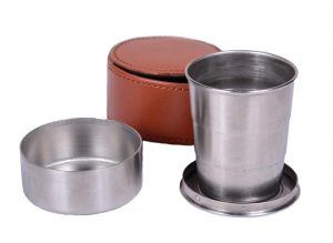 Bonart telescopic hip flask cup