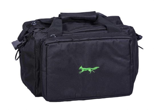 Lime logo range bag