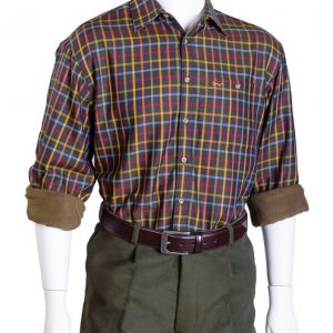 Edale fleece-lined shirt