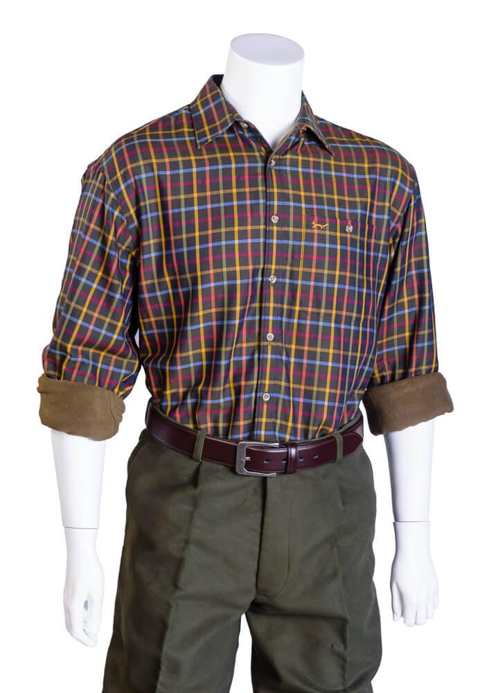 Edale fleece-lined shirt