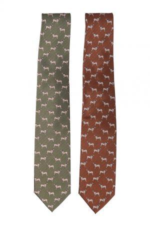 Bonart silk dog tie