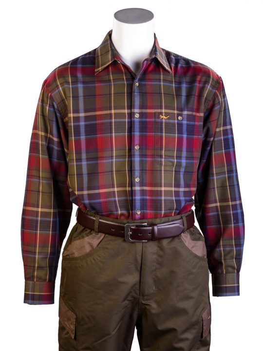 Bonart Dunvegan fleece-lined shirt