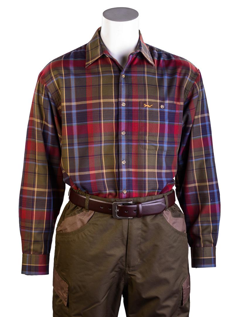 a06f45c78f766 Dunvegan Fleece-lined Shirt - Bonart Country Clothing