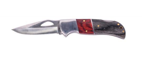 Two tone wooden folding knife